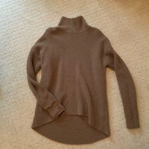 Madewell Camel Wool Turtleneck Sweater M